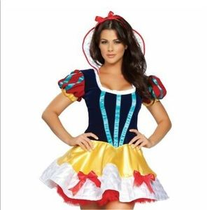 Halloween Snow White Sexy High-end Costume M/L